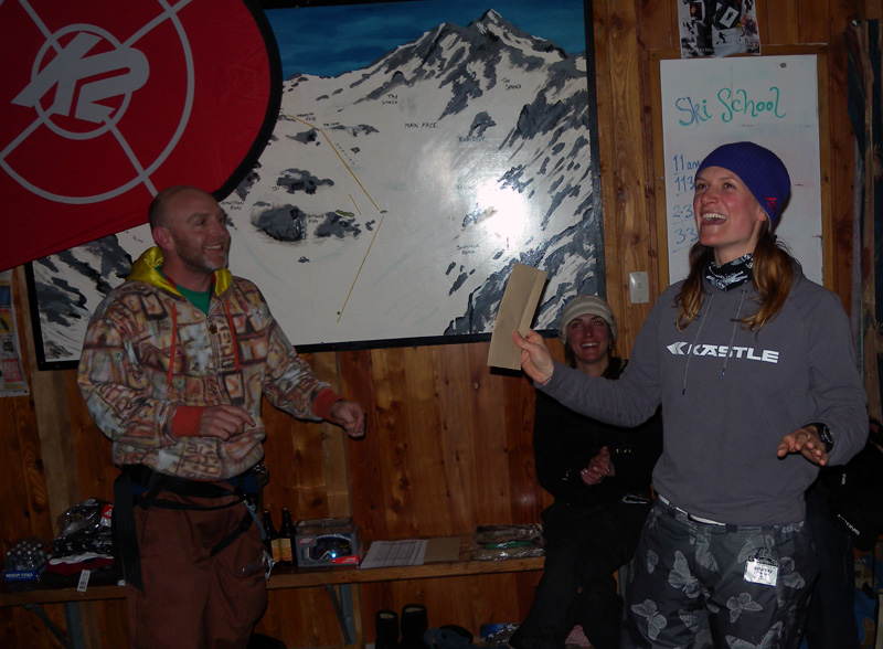 1st place at the Big Mountain Chill Series 2009