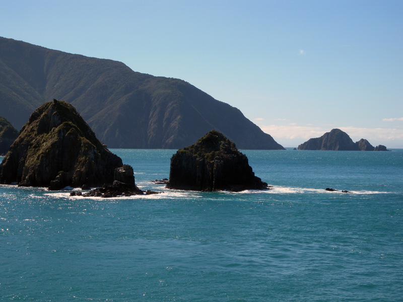 Ferry ride from Picton to Wellington