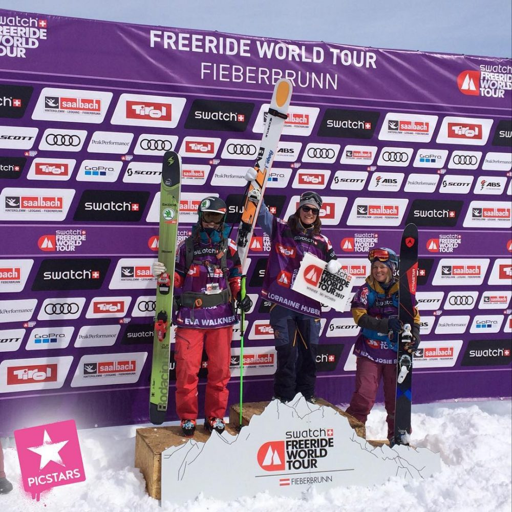 Somebody pinch me! Another win at the third freerideworldtour stophellip