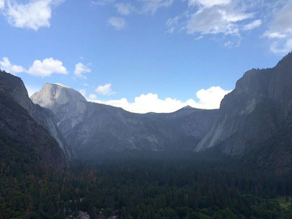 Cant get enough of these views yosemite halfdome tradclimbing liveclimbrepeathellip