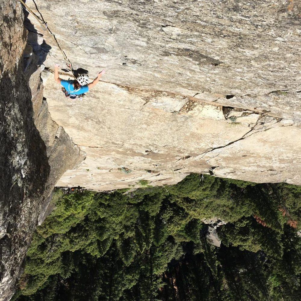 Little routes are still big in yosemite yosemiteratingsarenojoke humbled tradclimbinghellip
