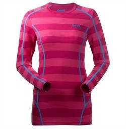 WEB_Image Krekling Lady Shirt Hot Pink Striped XS 119864569