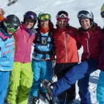 Experience how fun skiing and riding is with other women