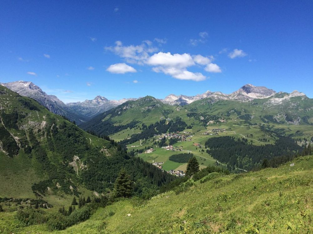 View of Oberlech on one of my favourite hikes aroundhellip
