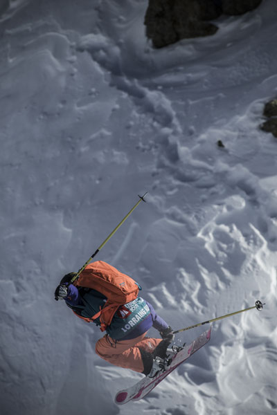 Pic: Freeride World Tour 2014 Chamonix, by D. Daher